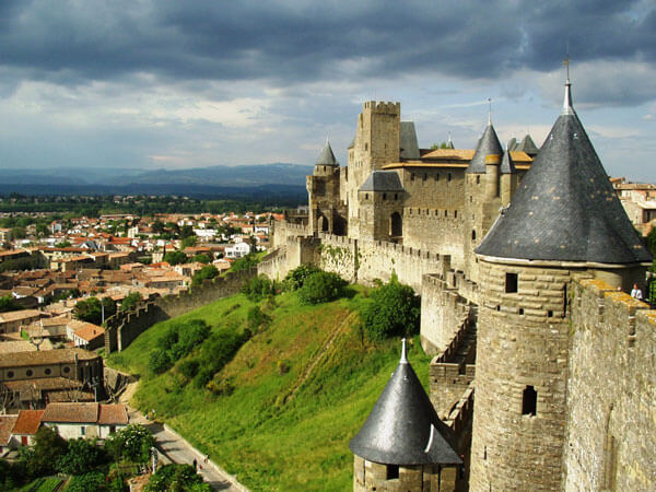 Carcassonne wall