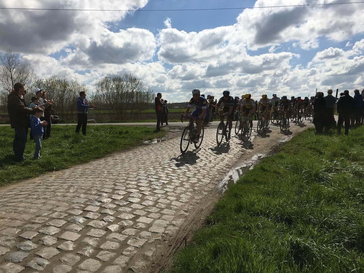 The challenge of racing on cobbles