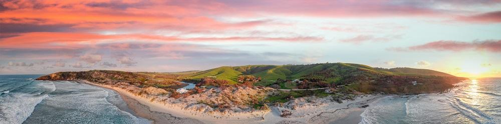 Kangaroo Island at Sunset