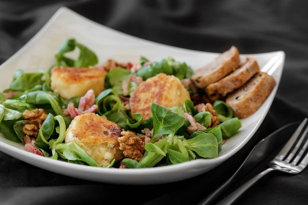 Salad chèvre Chaud