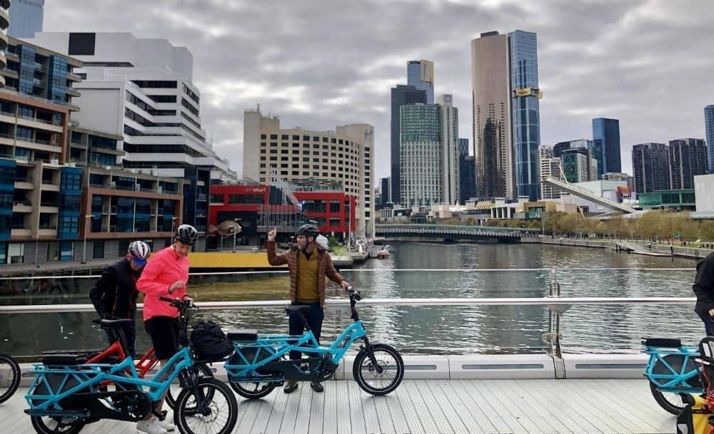 Tern e-Bike Tour on Melbourne's Yarra River.